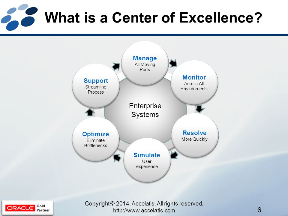 What is a Center of Excellence.
