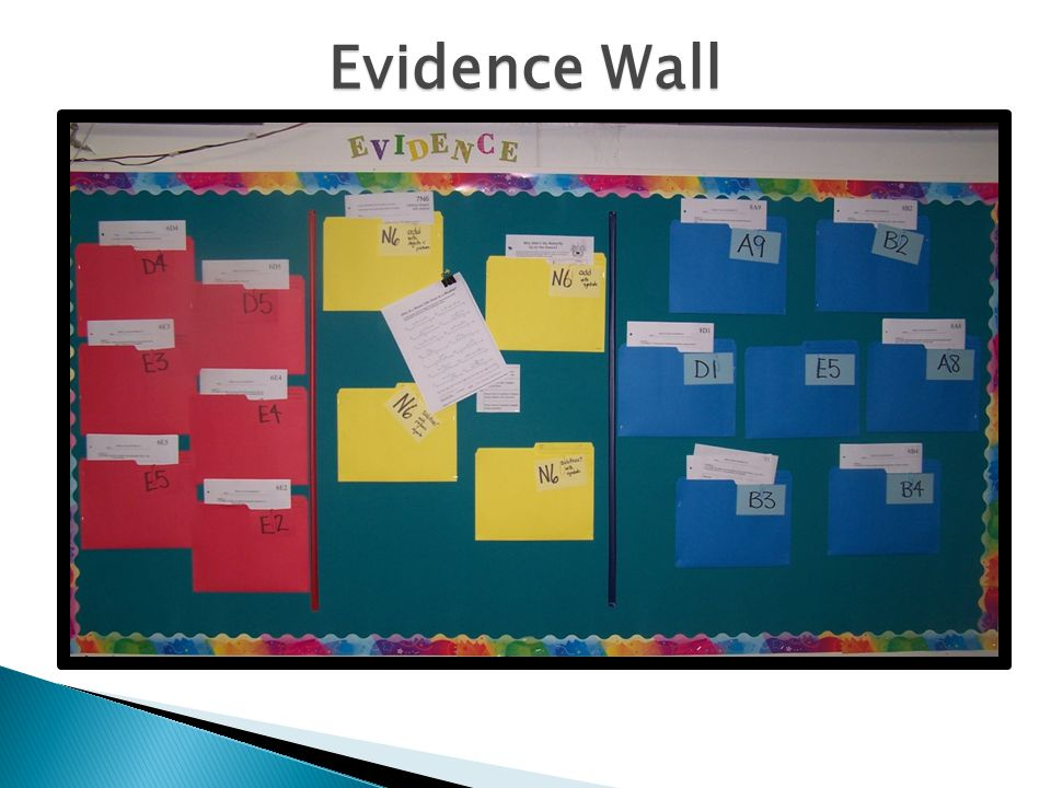 Evidence Wall