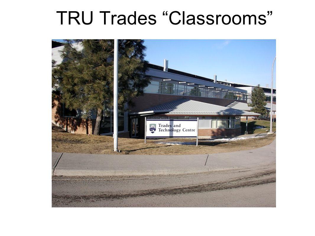 TRU Trades Classrooms