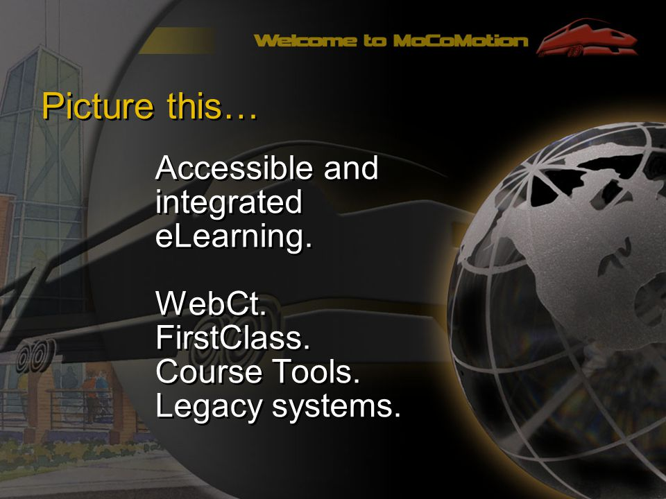 Picture this… Accessible and integrated eLearning.