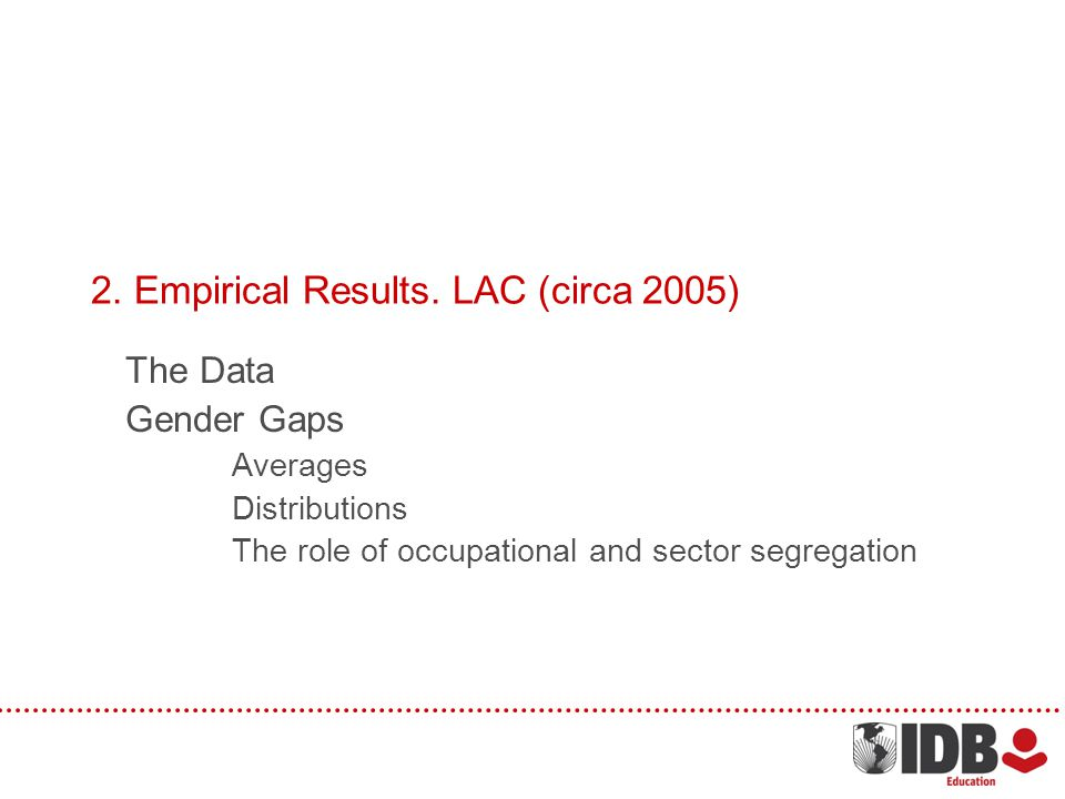 2.Empirical Results.