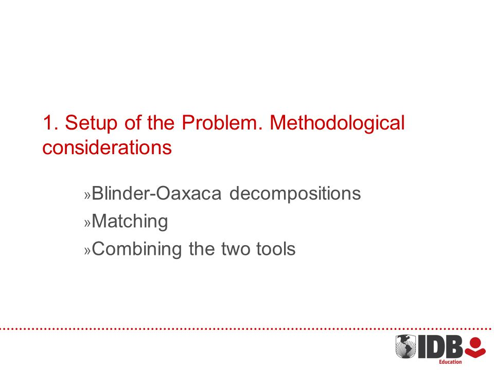1.Setup of the Problem.