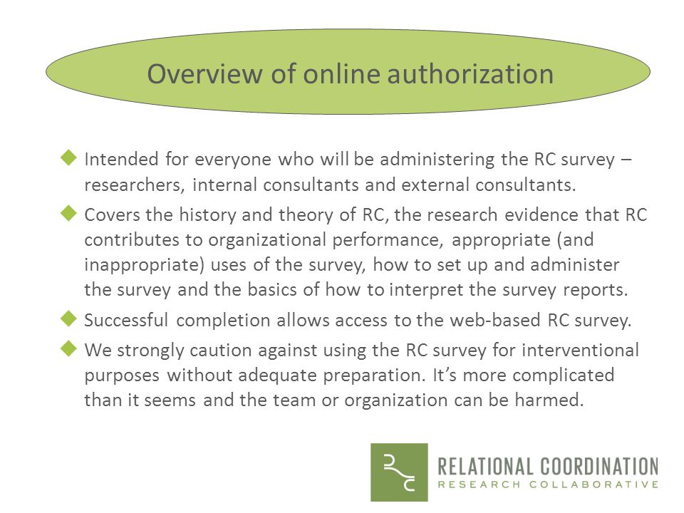 You may have a single site where you are conducting an intervention that you believe may improve both relational coordination and performance.