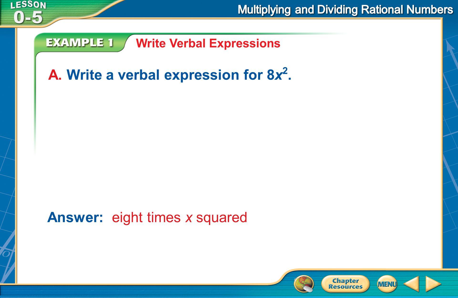 [Enter question here] A.6 – 4x B.(6 – 4)x C.6 + 4x D.6x – 4 B.