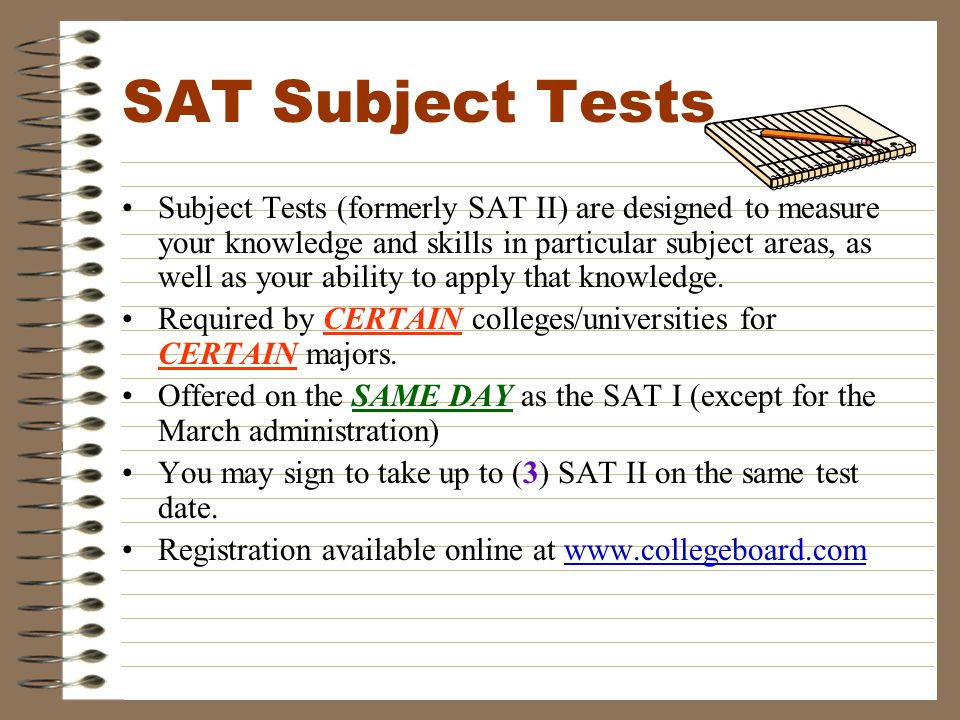 NEW THIS YEAR FOR BOTH SAT & ACT REGISTRATIONS… Students must upload a pic at the point of registration and present a picture ID with their admissions ticket the day of the exam.