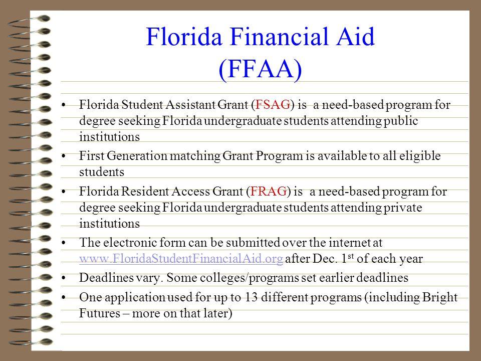 Financial Aid Federal Financial Aid State Financial Aid Institutional Financial Aid