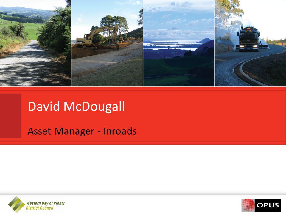 David McDougall Asset Manager - Inroads