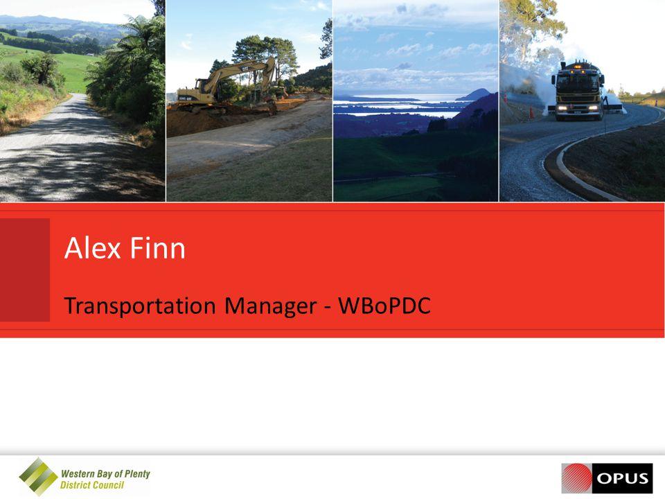 Alex Finn Transportation Manager - WBoPDC