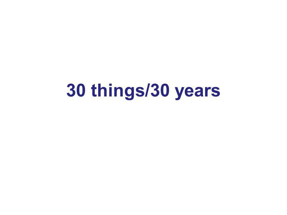 3 30 things/30 years 3