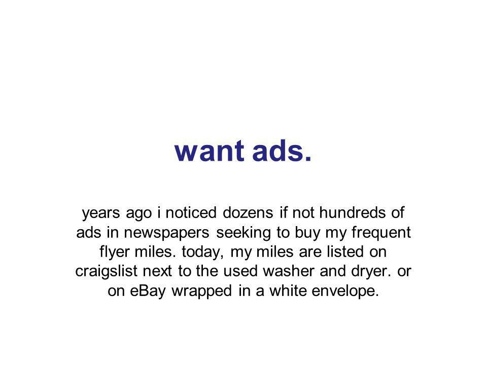 31 want ads.