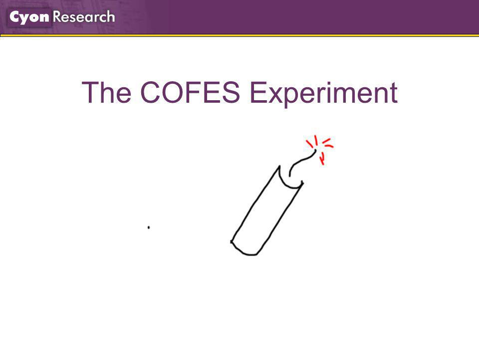 The COFES Experiment