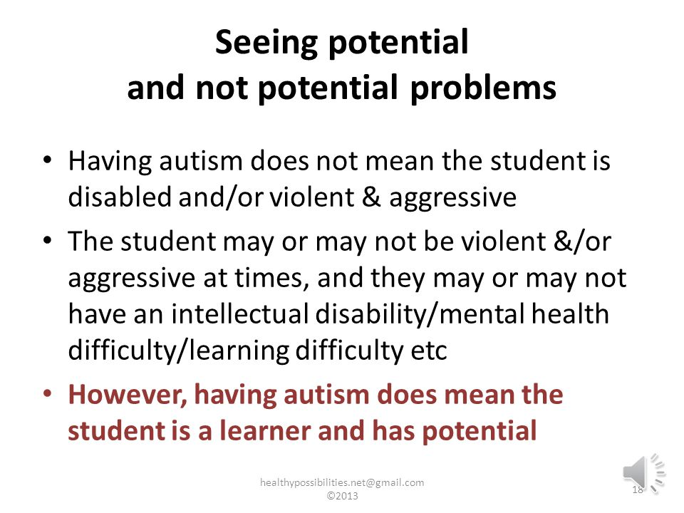 People with autism understand and interact with the world differently than neurotypical people.