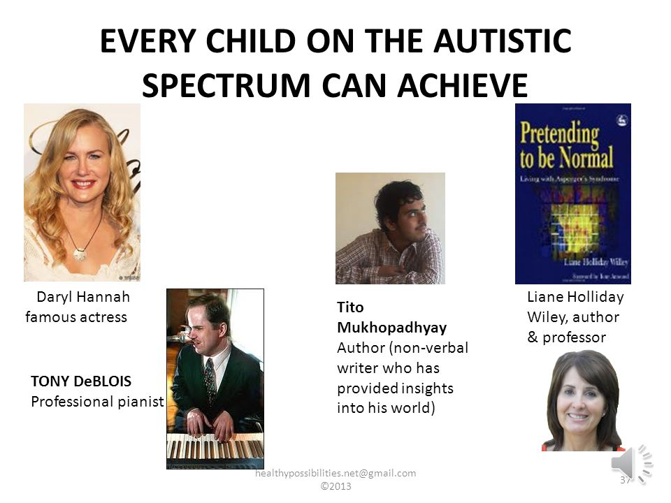 For this teachers need: To understand how people with autism think, interpret and interact with the world To use this understanding to influence the way they communicate and teach their students with autism To see their students with autism as learners with huge potential (to go to university, to have jobs, to have families etc) To have positive and constructive interactions with their students with autism ©