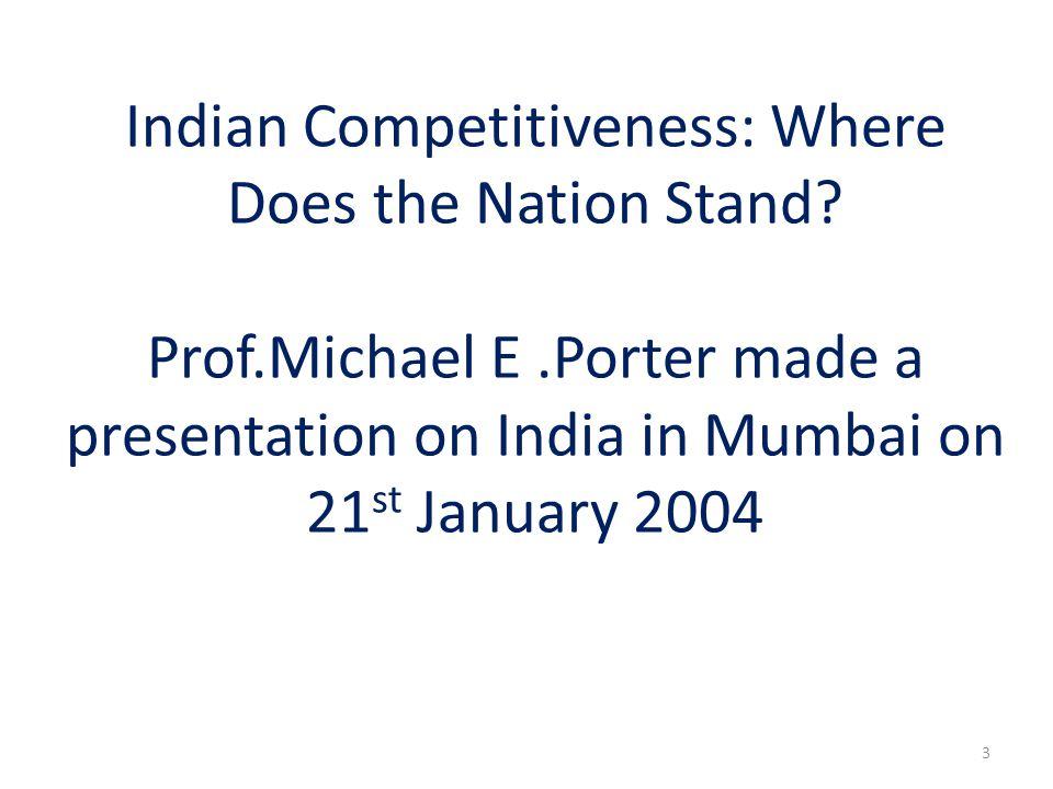 A similar story was seen between Ambassador cars and Maruti cars.