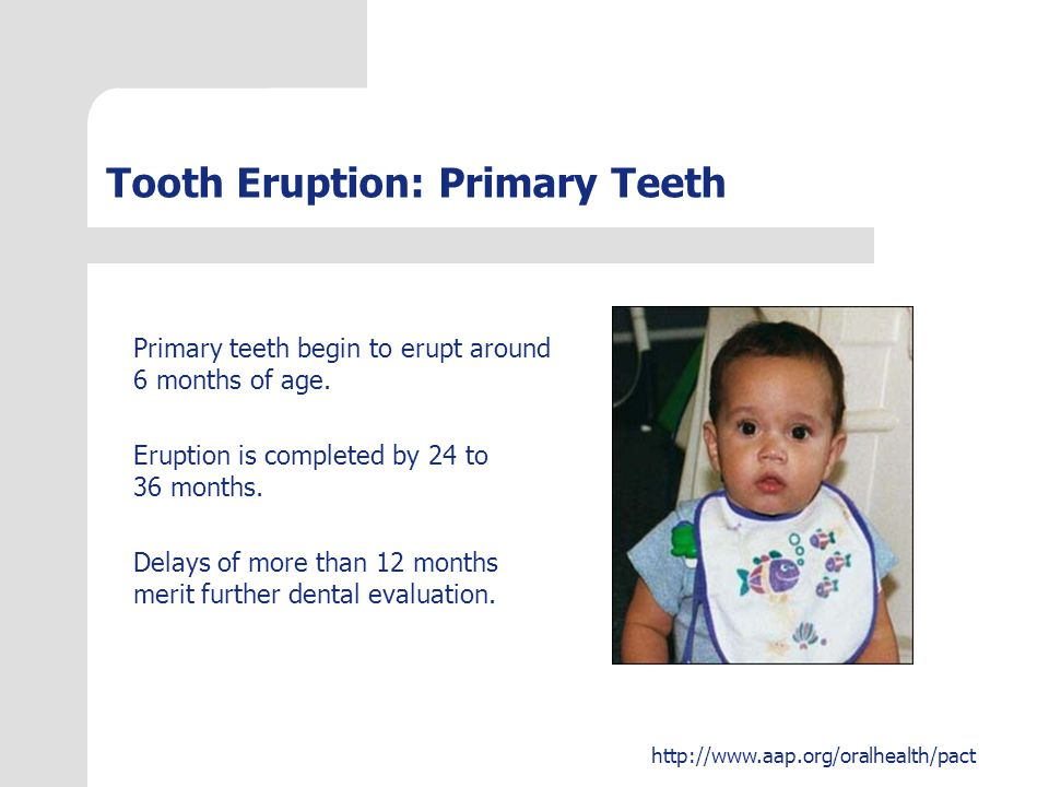 http://www.aap.org/oralhealth/pact Tooth Color Abnormalities in tooth color can result from a number of causes.