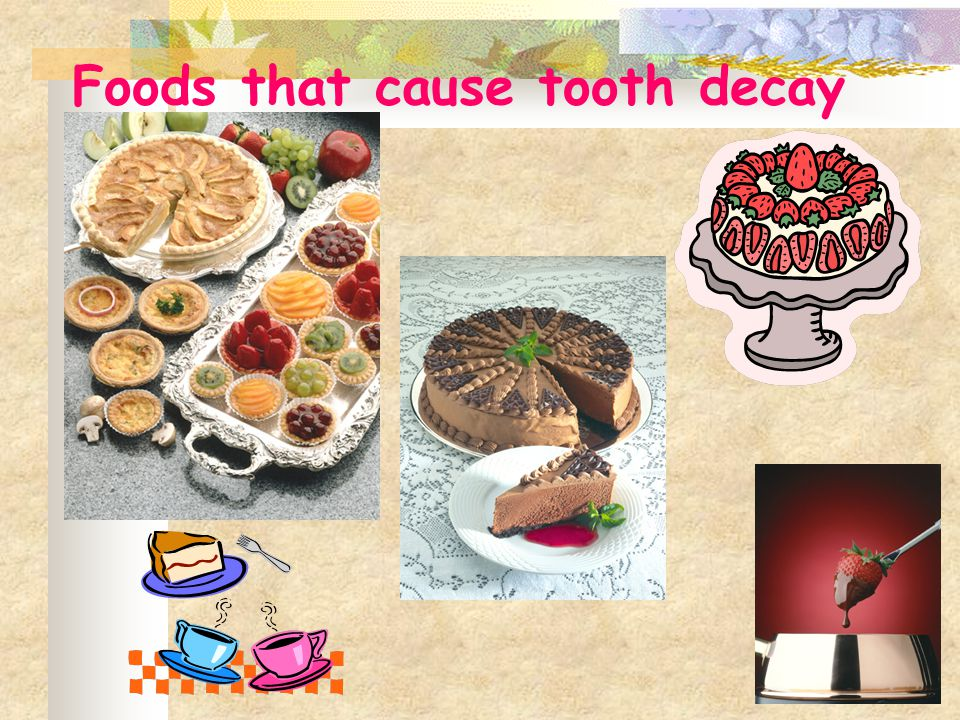 What foods are good for our teeth?