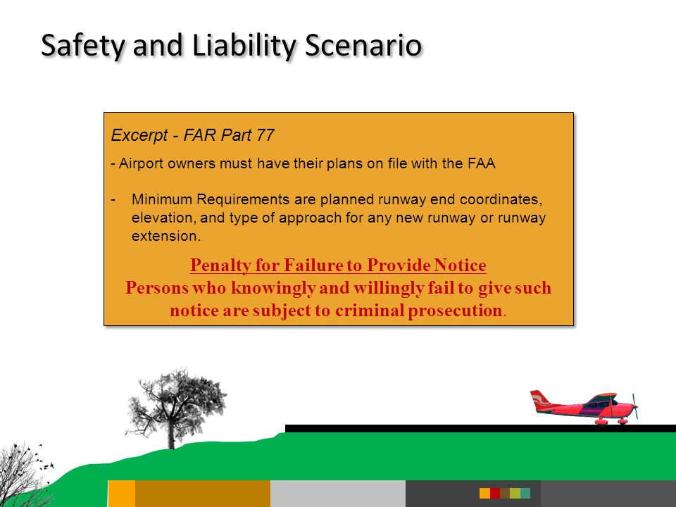 Safety and Liability Scenario
