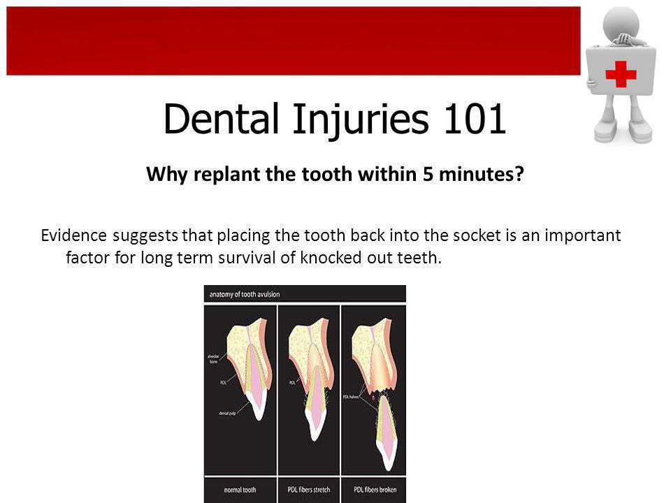 Dental Injuries 101 Your Role in Injury Prevention It is far better to prevent injuries than to have to deal with them after they occur.