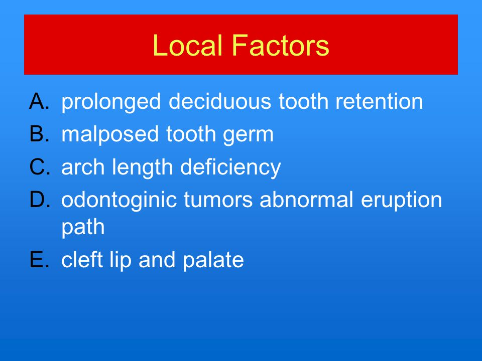 3-Classification of impacted maxillary cuspids: