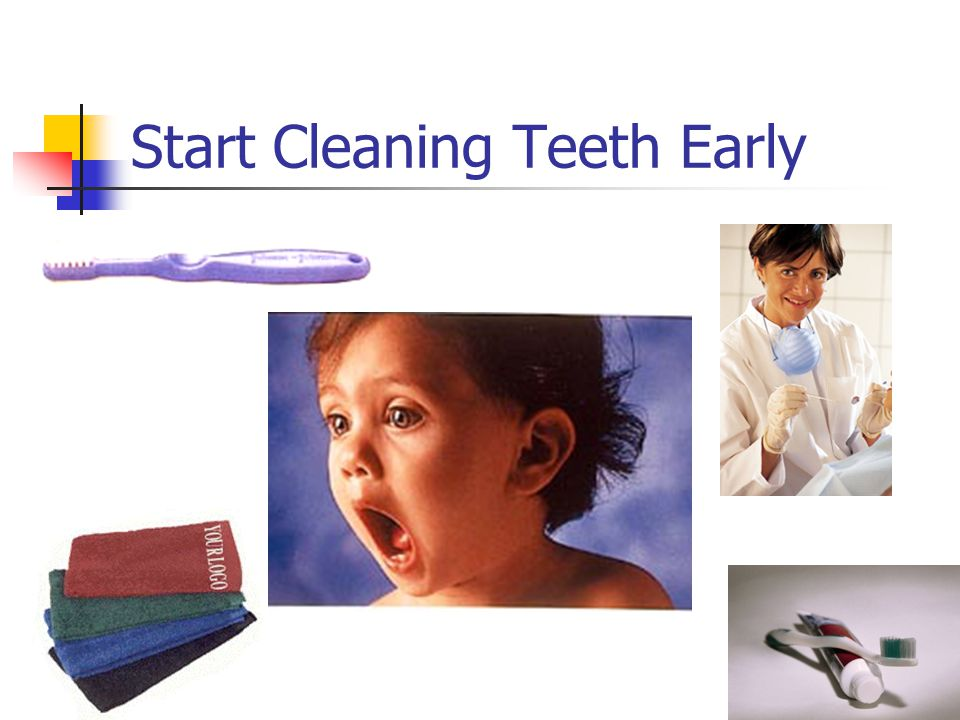 Start Cleaning Teeth Early