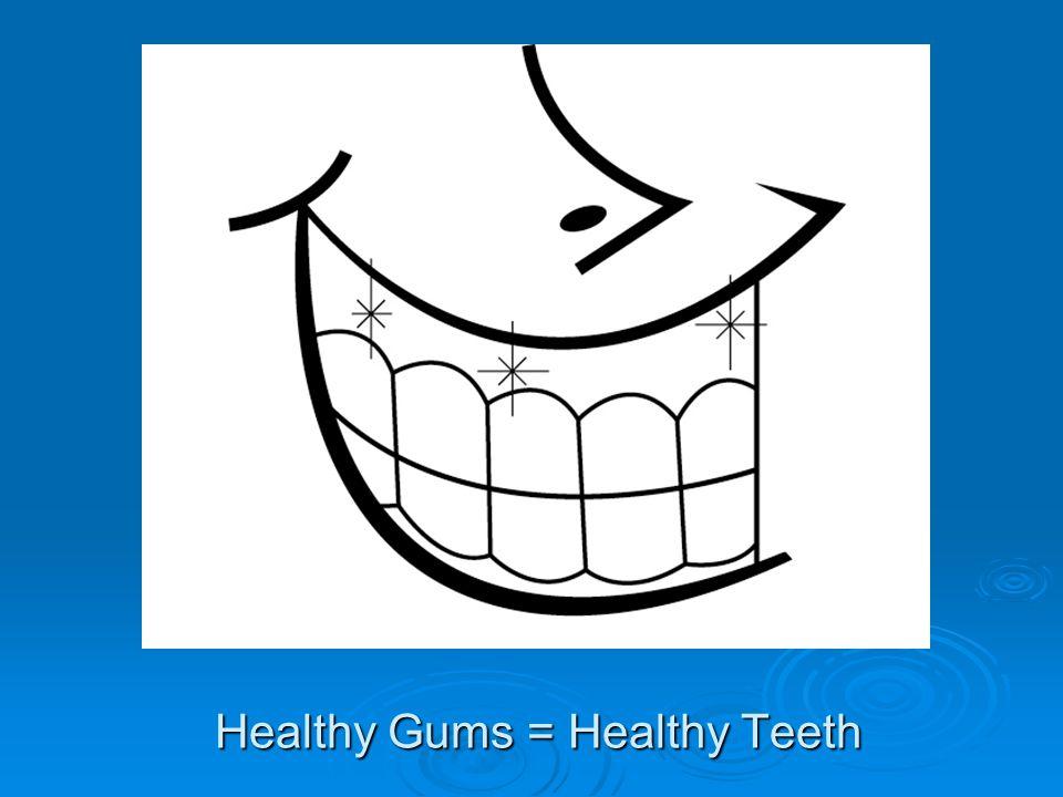 Healthy Gums = Healthy Teeth
