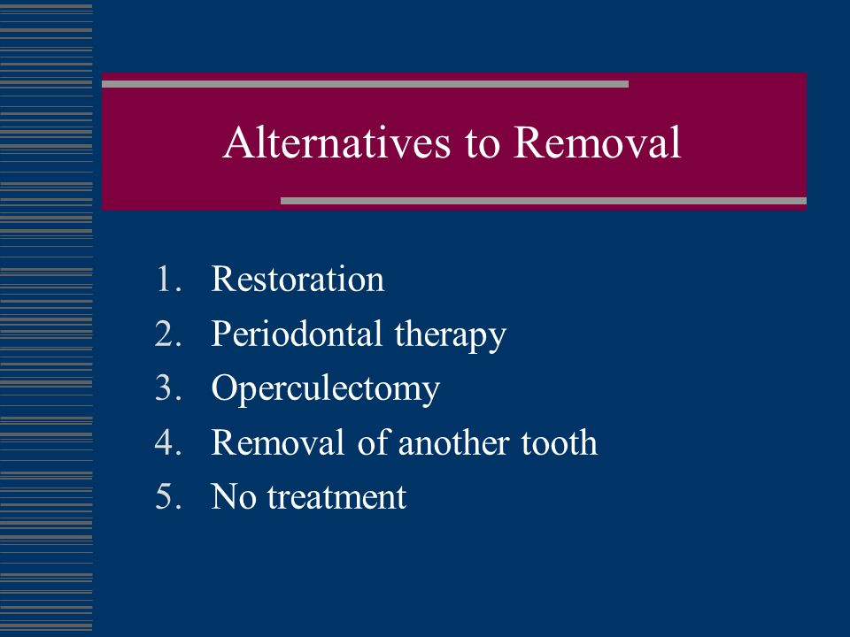 Timing Removal of 3rds When is the best time for prophylactic removal?