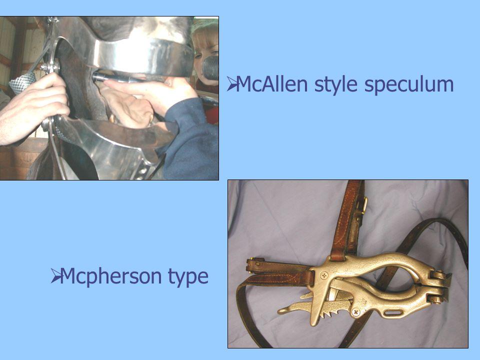 McAllen style speculum Mcpherson type