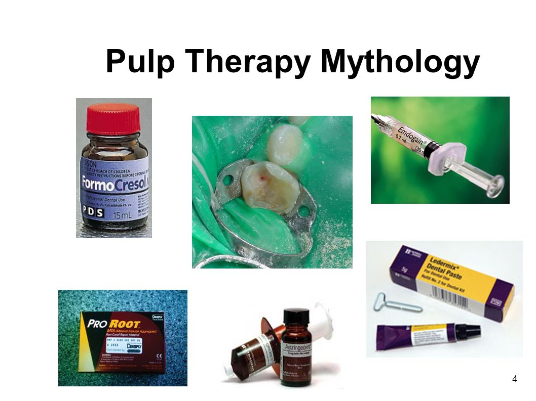 5 Evidence for Pulpal Therapy With rare exception, the studies we rely on are academic thesis projects Almost all use the same inclusion criteria which really dont reflect clinical reality Few follow their teeth through exfoliation and eruption of the succedaneous teeth Results are often clouded by purist views of radiologic success