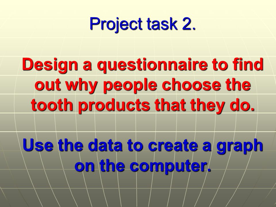 Project task 2.