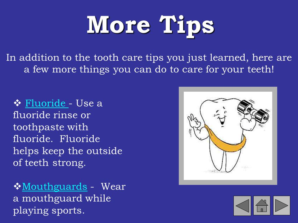 Foods That Are NOT Tooth Friendly Some foods are not tooth friendly. These foods contain a lot of sugar. Sugary foods cause plaque to build up on your