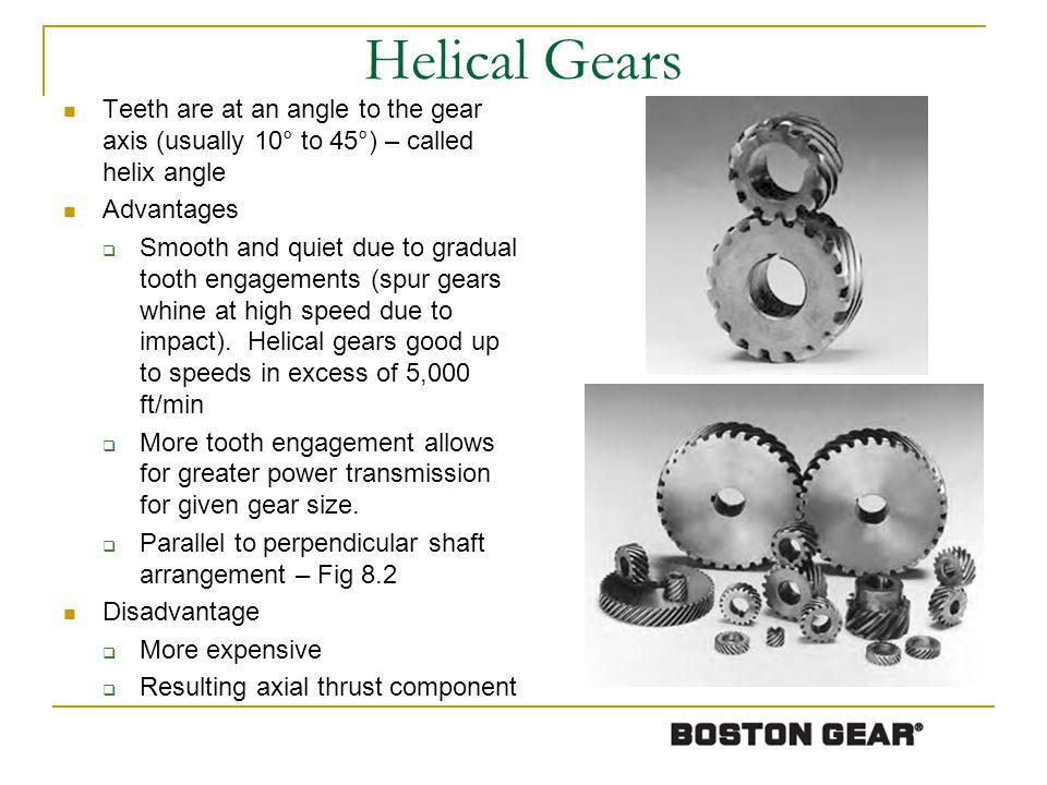 Gear Nomenclature Figure 8-8 More Gear Nomenclature: http://en.wikipedia.org/wiki/List_of_gear_nomenclature