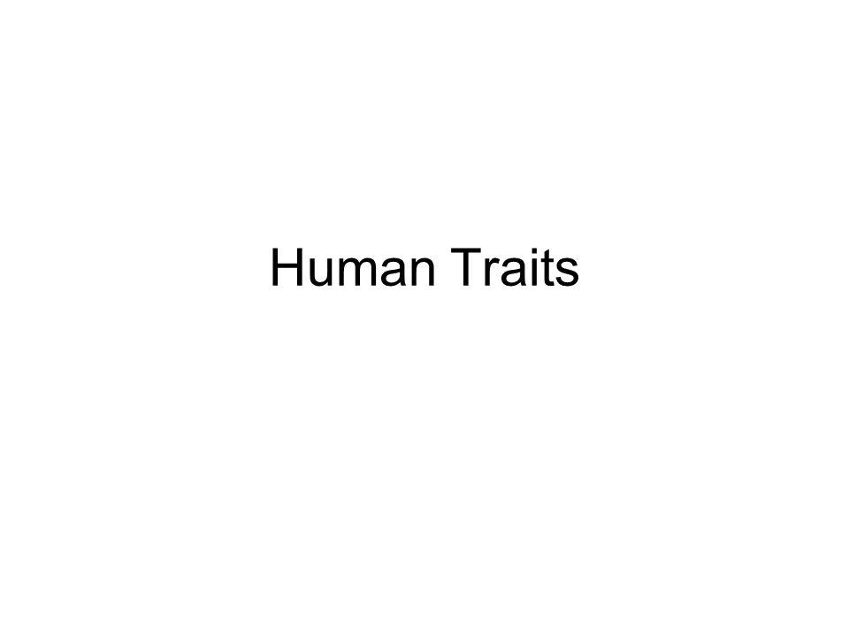 Human Traits