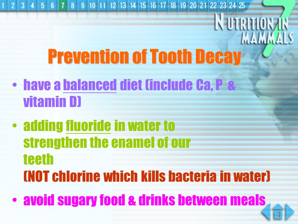 Does the acid take place in causing tooth decay .