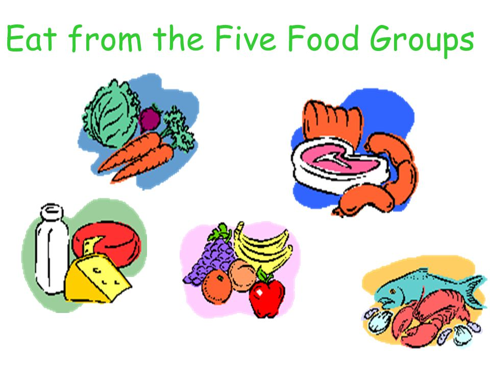 Eat from the Five Food Groups