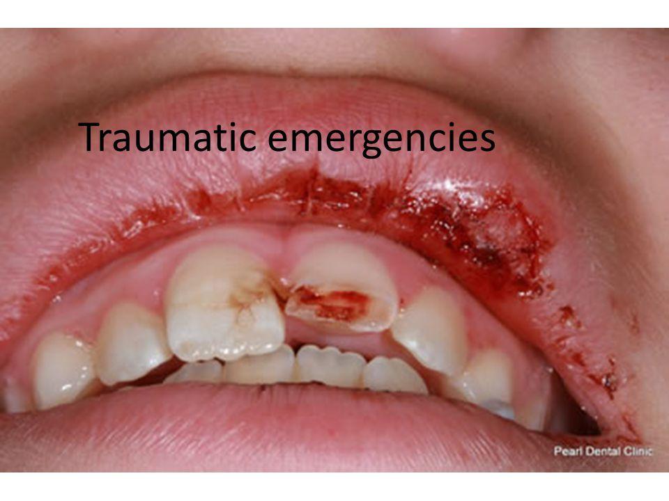 Traumatic emergencies