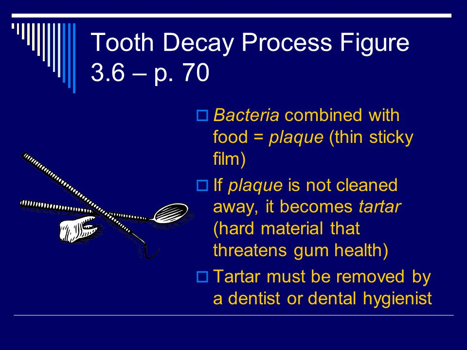 Tooth Decay Process Figure 3.6 – p.