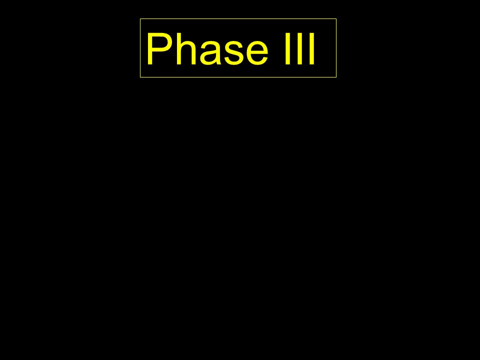Phase III PROPOSED
