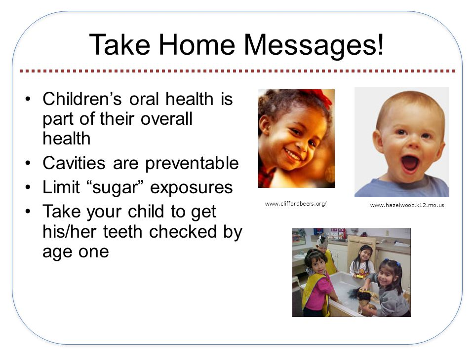 Take Home Messages.
