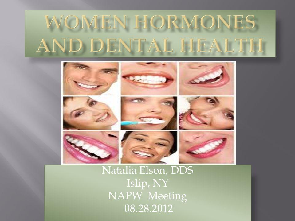 Natalia Elson, DDS Islip, NY NAPW Meeting 08.28.2012