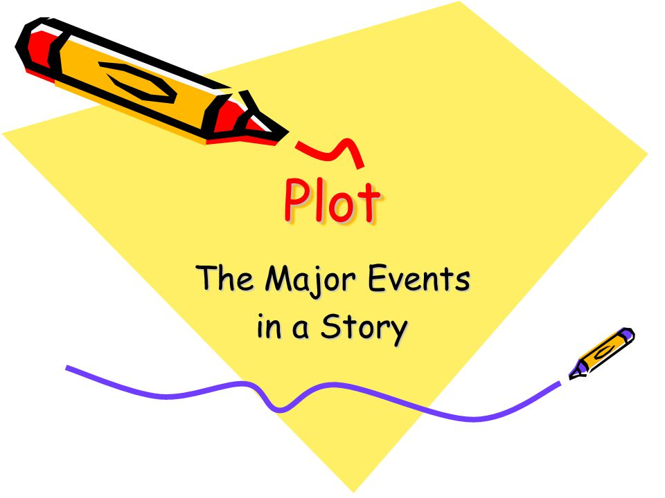 PlotPlot The Major Events in a Story