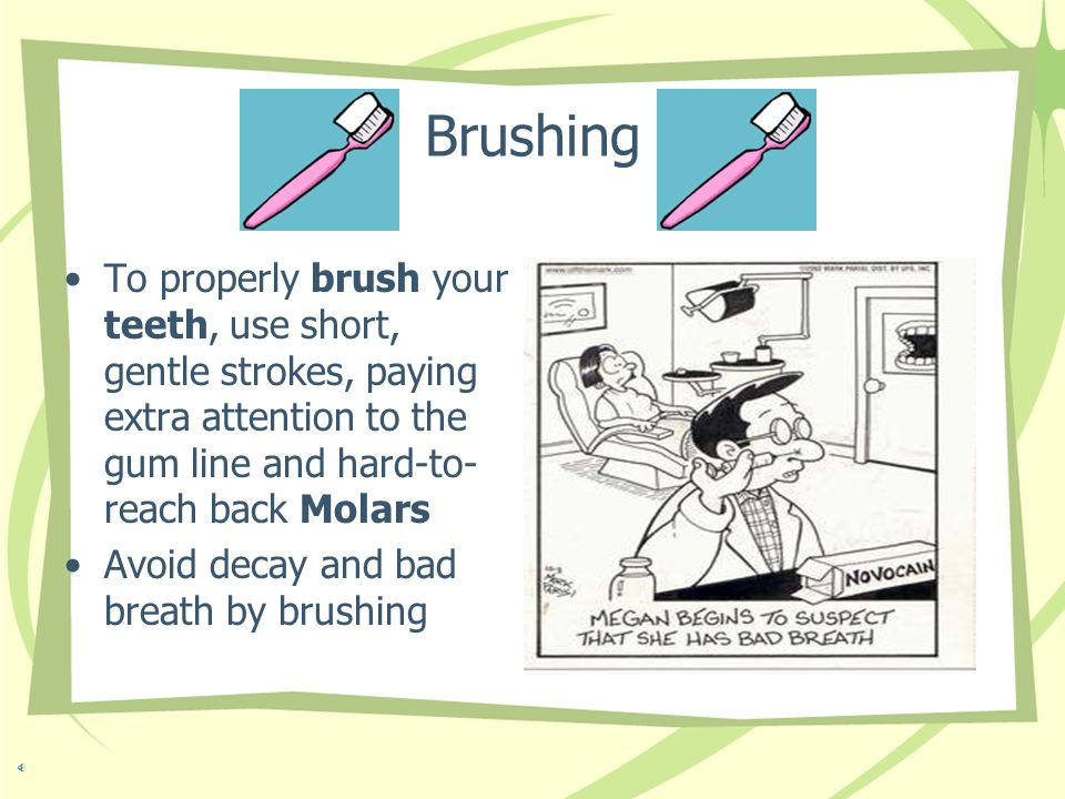 Three things You Can Do Floss Rinse Brush