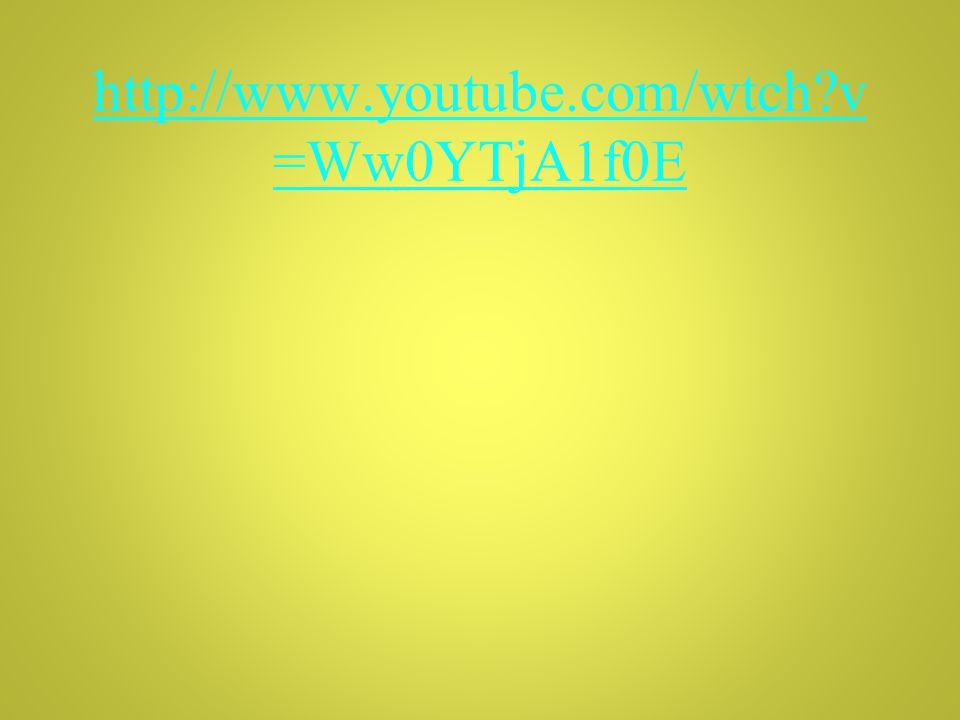 http://www.youtube.com/wtch v =Ww0YTjA1f0E