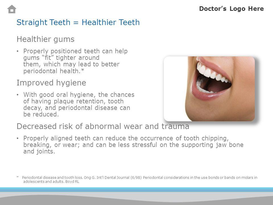 Doctors Logo Here How do I keep my teeth clean.