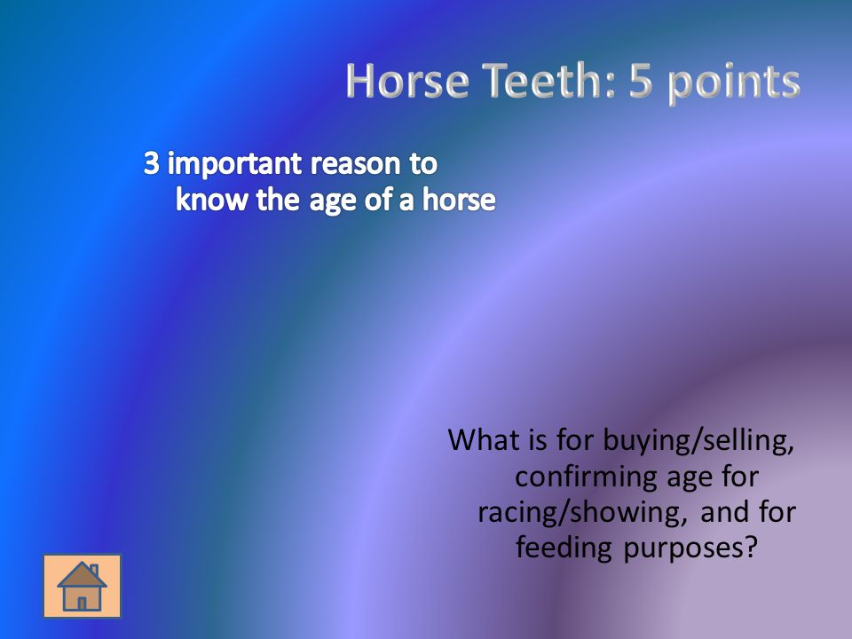 What is for buying/selling, confirming age for racing/showing, and for feeding purposes