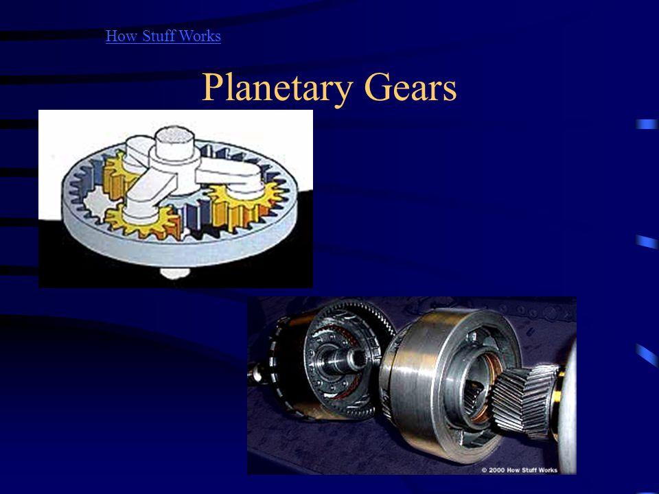 Planetary Gears How Stuff Works