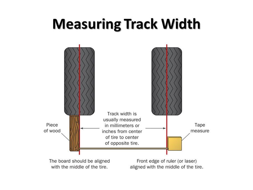 Measuring Track Width