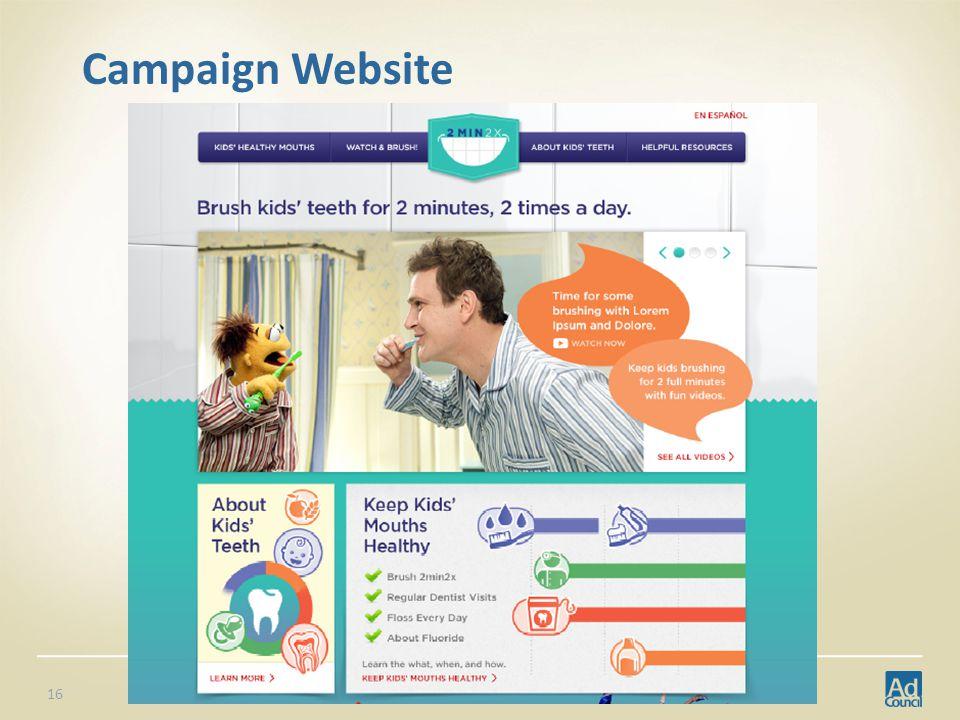 Campaign Website 16