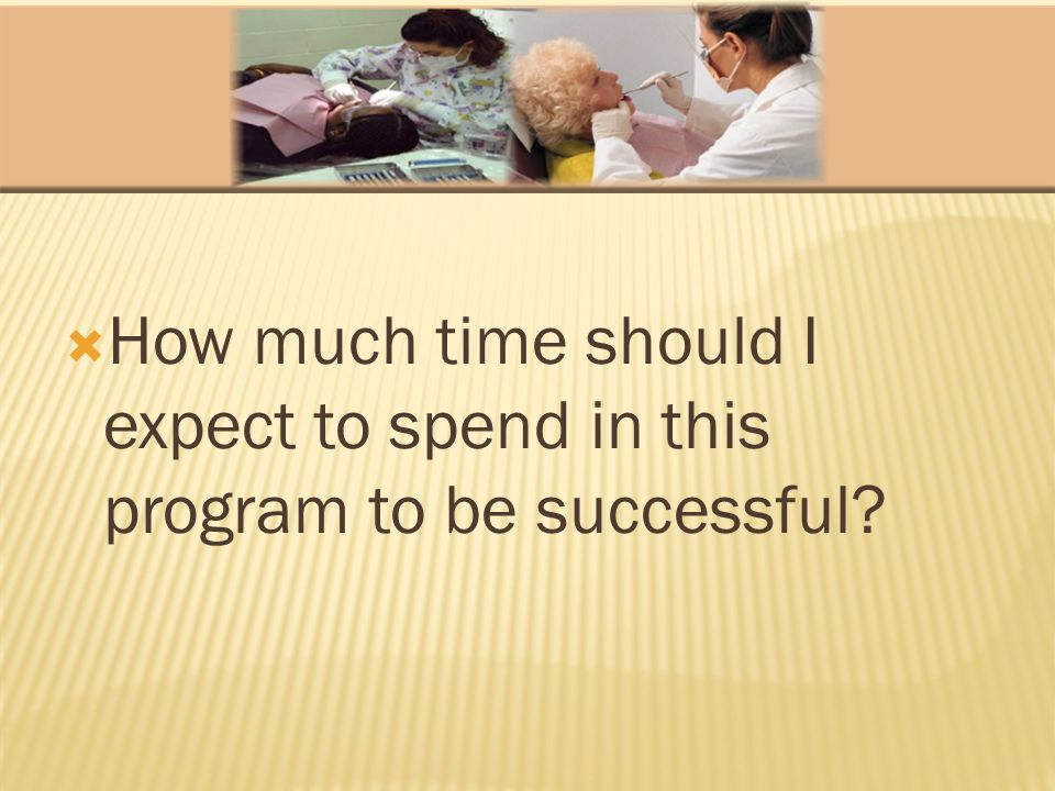 How much time should I expect to spend in this program to be successful
