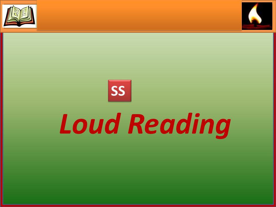 Loud Reading SS