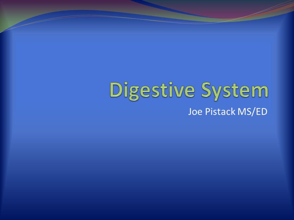 Joe Pistack MS/ED